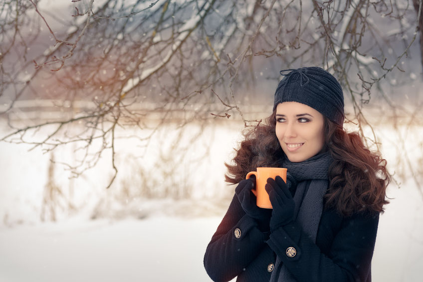 cura capelli ricci in inverno