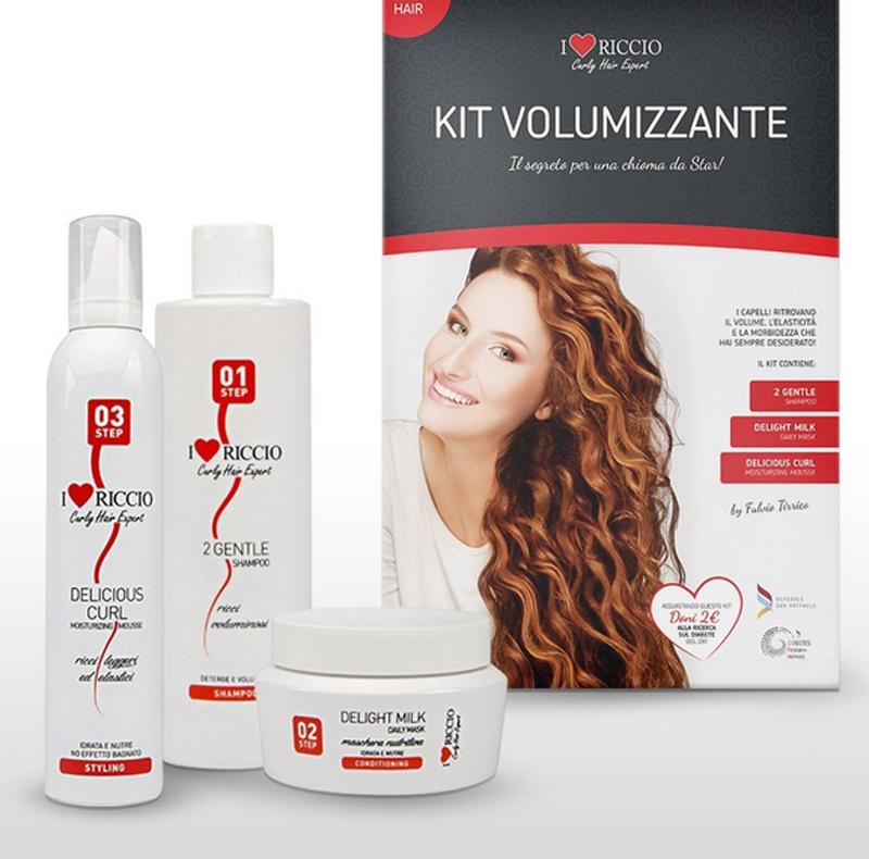 Banner kit idratante capelli ricci