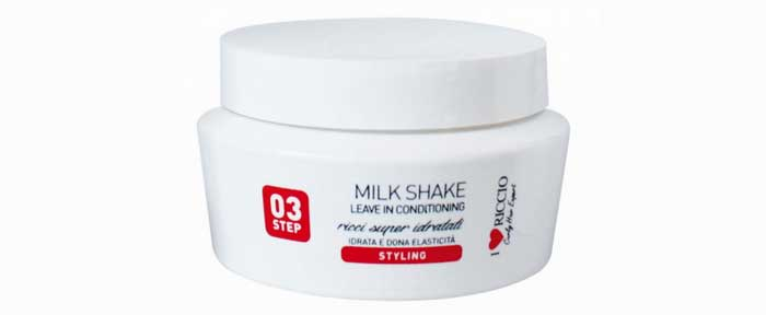 Barattolo crema anticrespo Milkshake