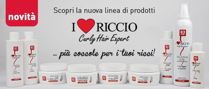 Shop tagli capelli ricci - e-commerce I love Riccio