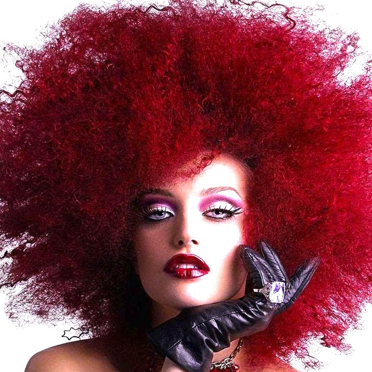 Colorazione per capelli ricci
