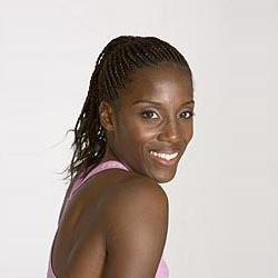 Acconciatura afro Fiona May Foto