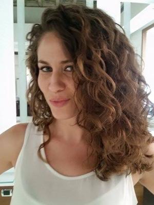Tagli capelli ricci lunghi 2015 Foto 1