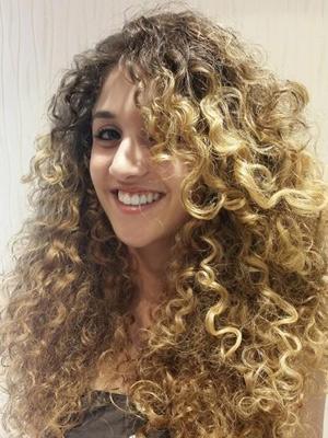 capelli ricci lunghi 2015 Foto 6