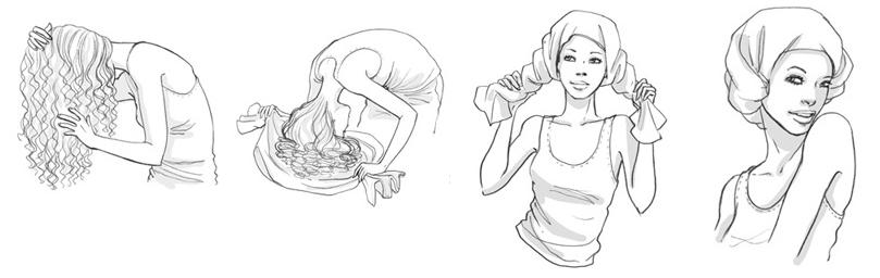 Vignette che descrivono la tecnica del plopping