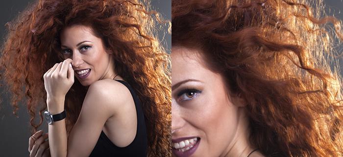 Tinte per capelli ricci immagine donna