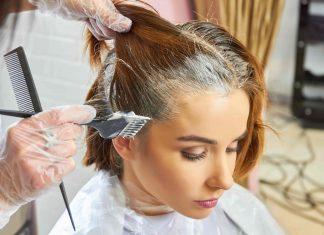 colorare capelli ricci